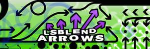 LsBlend's Arrows Brush Set