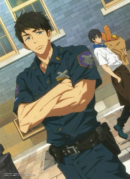 Dad!Sousuke x Mommy!Reader x Son!Haruka- Food Love by