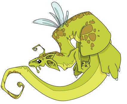 La Ela's Dragon _coloured_