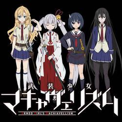 busou shoujo machiavellianism anime planet