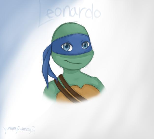 Tmnt 2012 Leonardo By Yummygummyjellyfish On Deviantart