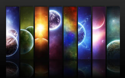 Infinity - Widescreen by Morague