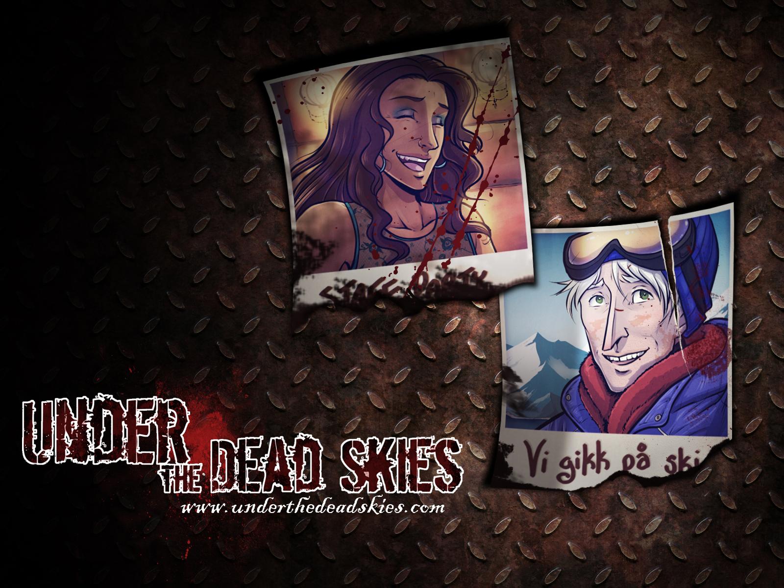 Under the Dead Skies - Polaroid Wallpaper by lunajile