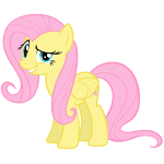 Fluttershy vector by wildtiel