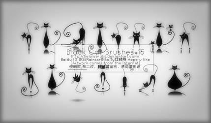 Black Cat Brushes*15