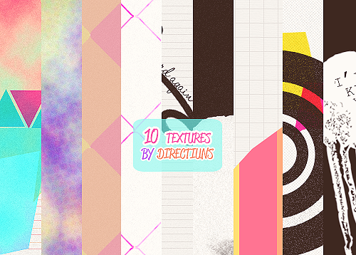 10 textures. by directiuns