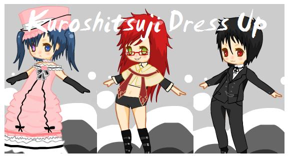 Kuroshitsuji Dress Up Game by Narutofan098