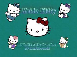 Hello Kitty Brush Pack by jodipheonix
