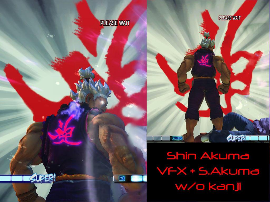 Akuma Classic Raging Demon Kanji All Costumes By Ozci On Deviantart