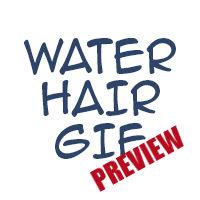 Water hair wip