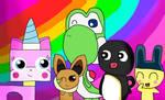 Yoshi's best friends by CuteYoshiLover