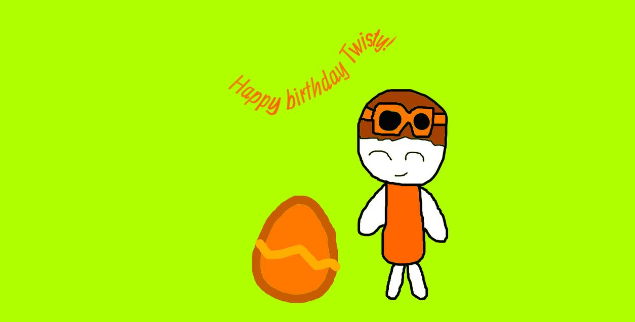 happy birthday twisty! by 123emilymason