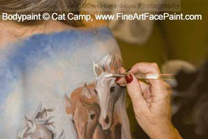 Cat Camp - Horses 1 by slephoto