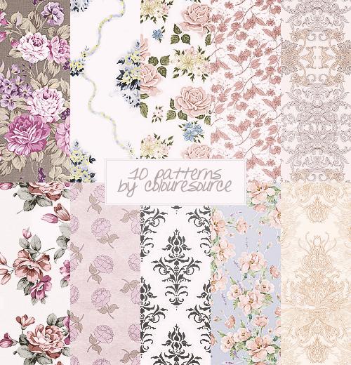 10 patterns by dianafletcher