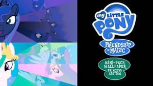 My Little Pony FIM Mini-Pack Wallpaper Princess Ed