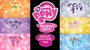 My Little Pony FIM 'Bubbles!' Wallpaper Pack