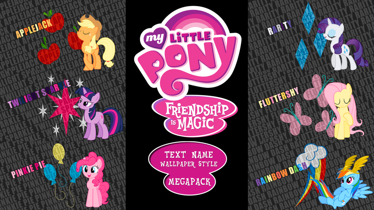 Download Wallpaper Name Style - my_little_pony__fim___text_name___wallpaper_megapack_by_bluedragonhans-d4qgbv8  HD_563839.png
