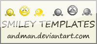 emoticon template by Myrloenn