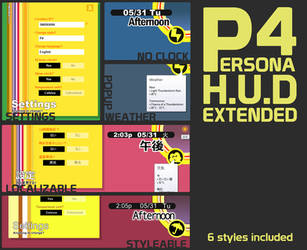 P4 HUD Extended by iron2000