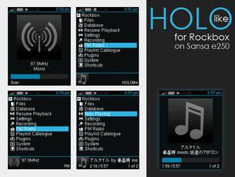 HOLOlike for Rockbox