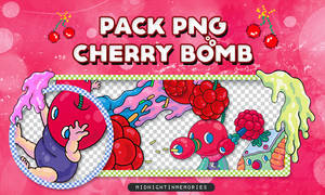 +Pack Png Cherry Bomb by MidnightInMemories
