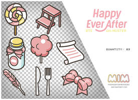 -BTS 4th Muster Happy Ever After PNGS by MidnightInMemories
