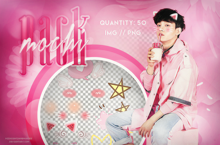 Pack Mochi // PNG by MidnightInMemories