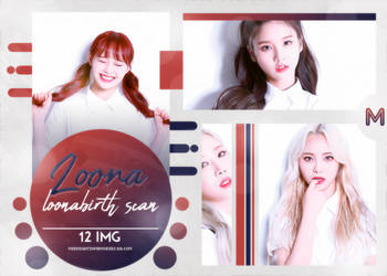 PHOTOPACK LOONA / LOONABIRTH SCAN / #222 by MidnightInMemories