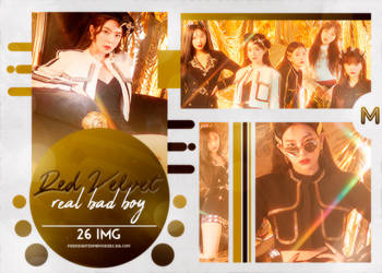 PHOTOPACK RED VELVET / RBB (REAL BAD BOY) / #227 by MidnightInMemories