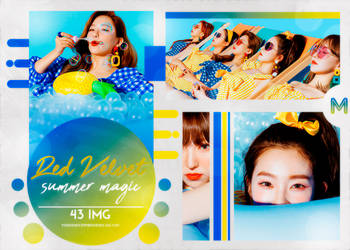 PHOTOPACK RED VELVET / SUMMR MAGIC / #228 by MidnightInMemories