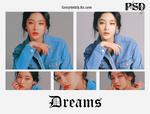 -dreams psd/coloring