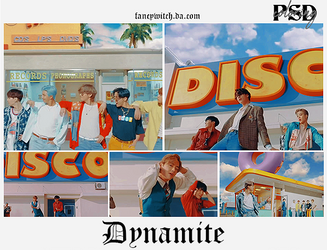 -dynamite psd/coloring