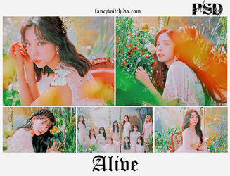 -alive psd/coloring