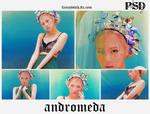 -andromeda psd - coloring