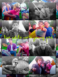 Live while we're young PSD