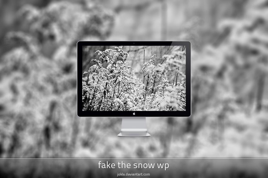 fake the snow wp by IgorKlajo