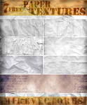 7 FREE PAPER TEXTURES