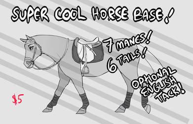 Super Horse Base by SailorMoonFan666