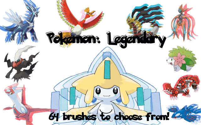 Pokemon: Legendary Brushes