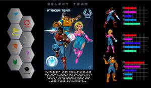 WCL Game Progress - select screen