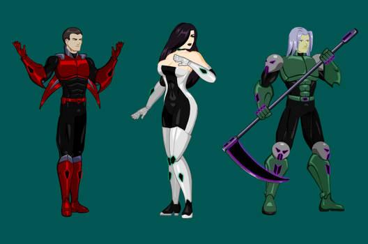 Reaper Team Idle