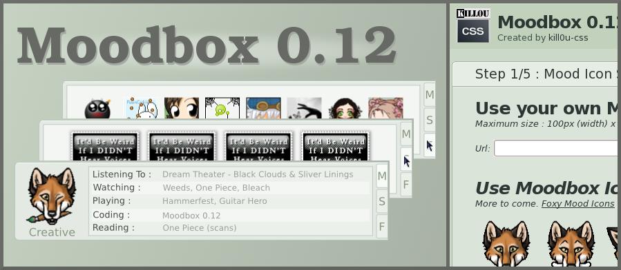 MoodBox 0.12 + PHP Generator by kill0u-CSS
