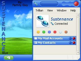 Sustenance Blue by familyguy87