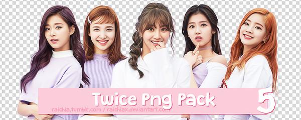 + Twice Png Pack - Dahyun,Tzuyu,Nayeon,Jihyo,Sana by Raichiax
