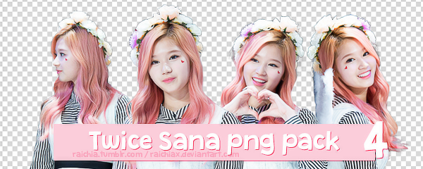 Twice Sana Png Pack by Raichiax on DeviantArt