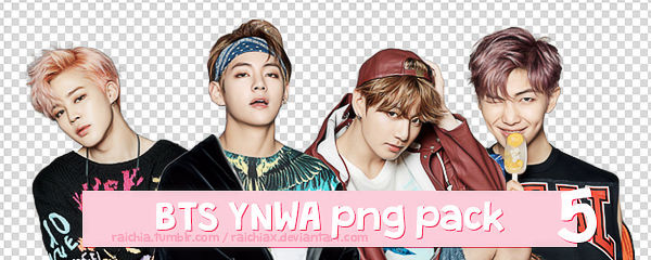 + BTS You Never Walk Alone Solo Png Pack