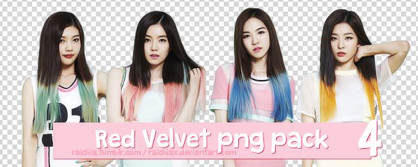 + Red Velvet Solo Happiness Png Pack by Raichiax