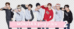 + MONSTA X Kappa Group Png Pack