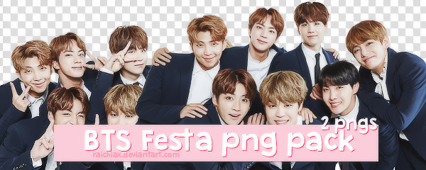 + BTS Festa 2017 Group PT. 1 Png Pack by Raichiax