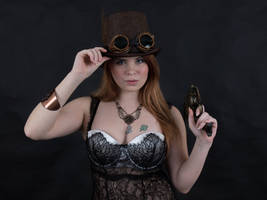 Steampunk Portrait Stock 22 Images by MelHeflin